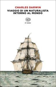 Copertina del libro Viaggio di un naturalista intorno al mondo di Charles Darwin