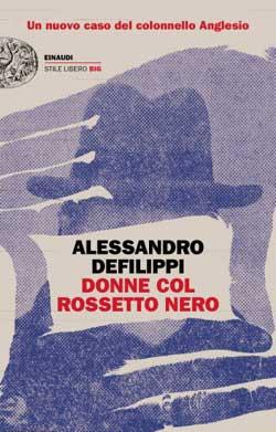 Copertina del libro Donne col rossetto nero di Alessandro Defilippi