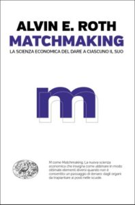 Copertina del libro Matchmaking di Alvin E. Roth