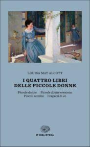 Copertina del libro I quattro libri delle Piccole donne di Louisa May Alcott