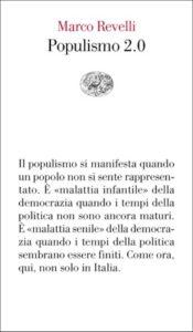 Copertina del libro Populismo 2.0 di Marco Revelli
