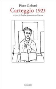 Copertina del libro Carteggio 1923 di Piero Gobetti