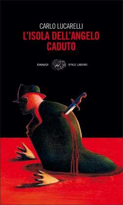 Copertina del libro L'isola dell'Angelo Caduto di Carlo Lucarelli