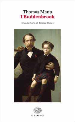 Copertina del libro I Buddenbrook (Einaudi) di Thomas Mann