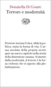 Copertina del libro Terrore e modernità di Donatella Di Cesare