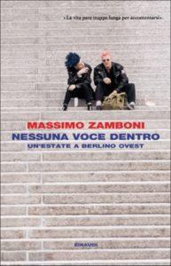 Copertina del libro Nessuna voce dentro di Massimo Zamboni