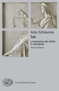 Copertina del libro Ius di Aldo Schiavone