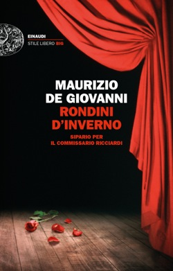 Copertina del libro Rondini d'inverno di Maurizio de Giovanni