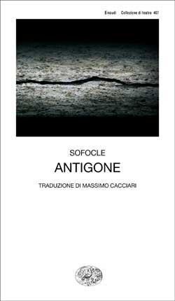 Copertina del libro Antigone di Sofocle