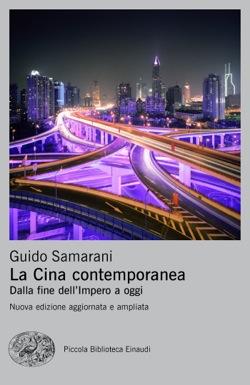 Copertina del libro La Cina contemporanea di Guido Samarani