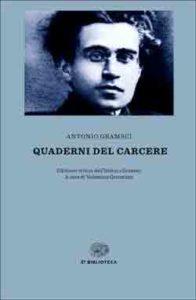 Copertina del libro Quaderni del carcere di Antonio Gramsci