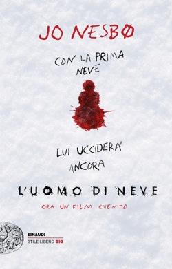 Copertina del libro L'uomo di neve di Jo Nesbø