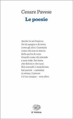 Copertina del libro Le poesie di Cesare Pavese