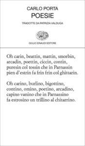 Copertina del libro Poesie di Carlo Porta