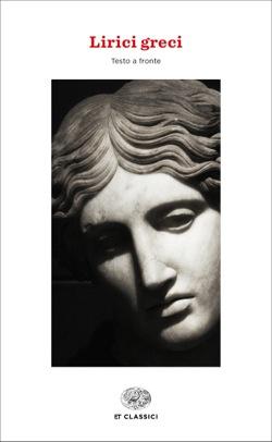 Copertina del libro Lirici greci di VV.