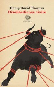 Copertina del libro La disobbedienza civile di Henry David Thoreau