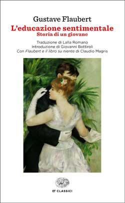 Copertina del libro L'educazione sentimentale di Gustave Flaubert