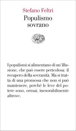 Copertina del libro Populismo sovrano di Stefano Feltri