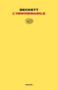 Copertina del libro L'innominabile di Samuel Beckett