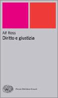 Copertina del libro Diritto e giustizia di Alf Ross