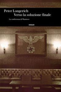 Copertina del libro Verso la soluzione finale di Peter Longerich
