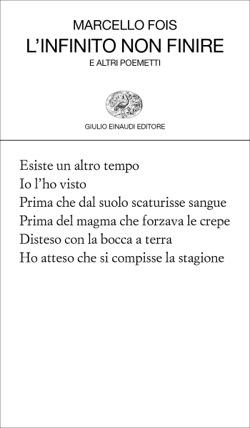 Copertina del libro L'infinito non finire di Marcello Fois