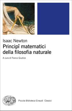 Copertina del libro Principî matematici della filosofia naturale di Isaac Newton