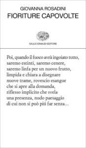 Copertina del libro Fioriture capovolte di Giovanna Rosadini
