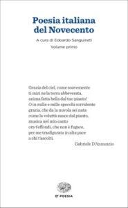 Copertina del libro Poesia italiana del Novecento di VV.