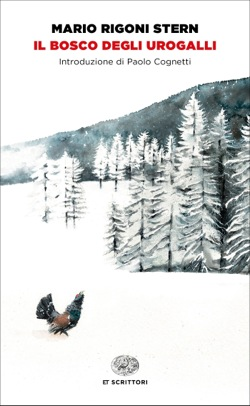Copertina del libro Il bosco degli urogalli di Mario Rigoni Stern