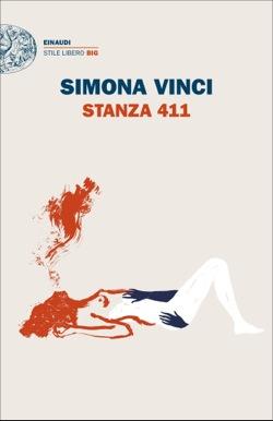 Copertina del libro Stanza 411 di Simona Vinci