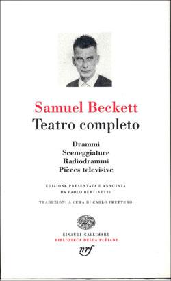 Copertina del libro Teatro completo di Samuel Beckett