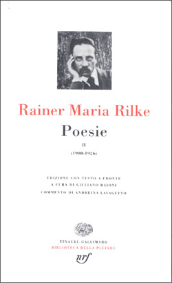 Copertina del libro Poesie. II: 1908-1926 di Rainer Maria Rilke