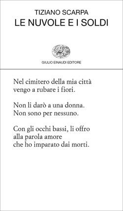 Copertina del libro Le nuvole e i soldi di Tiziano Scarpa