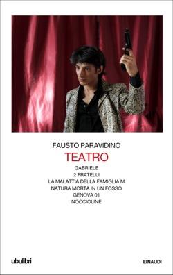 Copertina del libro Teatro di Fausto Paravidino