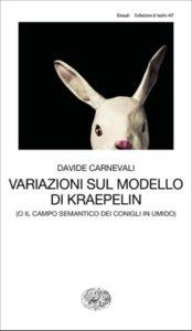 Copertina del libro Variazioni sul modello di Kraepelin di Davide Carnevali