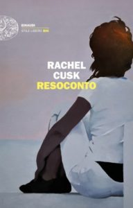 Copertina del libro Resoconto di Rachel Cusk