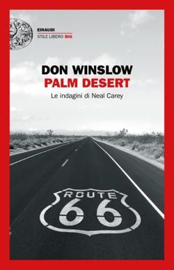Copertina del libro Palm Desert di Don Winslow
