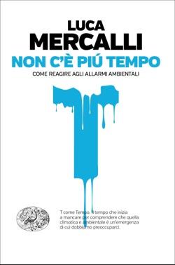 Copertina del libro Non c'è più tempo di Luca Mercalli