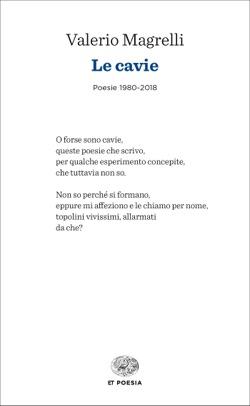 Copertina del libro Le cavie di Valerio Magrelli
