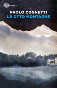 Copertina del libro Le otto montagne di Paolo Cognetti