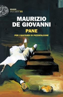 Copertina del libro Pane di Maurizio de Giovanni