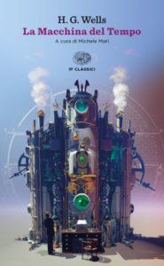 Copertina del libro La macchina del tempo di Herbert George Wells