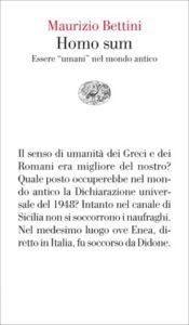 Copertina del libro Homo sum di Maurizio Bettini