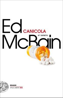 Copertina del libro Canicola di Ed McBain