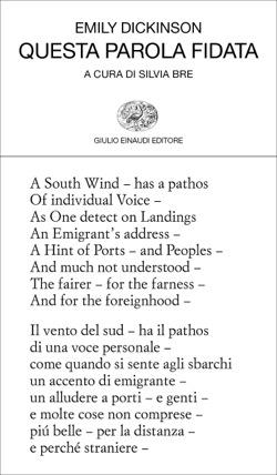 Copertina del libro Questa parola fidata di Emily Dickinson