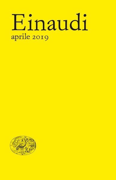 Aprile 2017 - Listino Einaudi - book cover