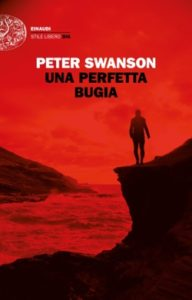 Copertina del libro Una perfetta bugia di Peter Swanson