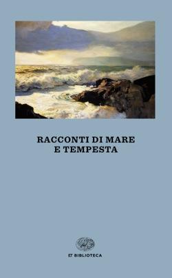 Copertina del libro Racconti di mare e tempesta di VV.