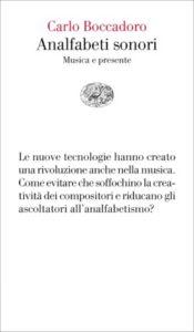 Copertina del libro Analfabeti sonori di Carlo Boccadoro